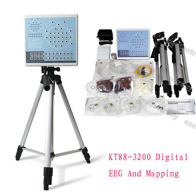 Digital Brain Electric Activity Mapping System,32 Channels EEG Machine,software