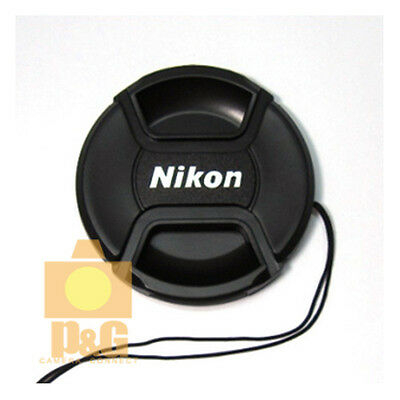 New Nikon 40.5mm Snap-On Lens Cap + Rope / Front Lens Cap
