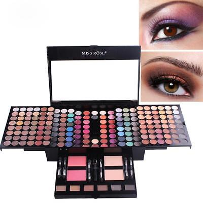 Miss Rose 180 color matte shimmer Eyeshadow palette concealer Makeup Kit Set hot