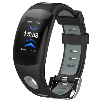 New Fitness Swimming Waterproof Heart Rate Smart Bracelet Activity Record USB/US