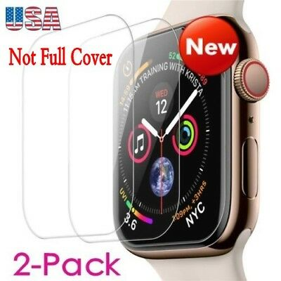 2X Tempered Glass Screen Protector For Apple Watch (Series 1/2/3/4) 38/42mm Lot
