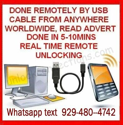 Remote Unlock Service Samsung Galaxy S2 S3 S4 S5 Note 2 3 4 T-mobile USA