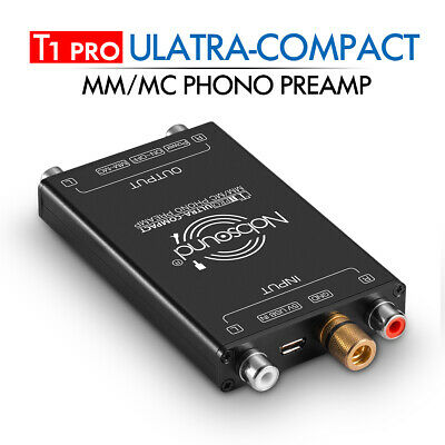 Nobsound T1 MM Phono Turntable Preamp Mini Audio Stereo Phonograph Preamplifier