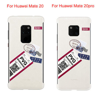 Brief Patterned Matte Shockproof Phone Case Cover For Huawei Mate20 /Mate 20 Pro