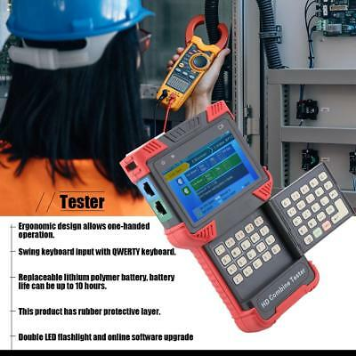 DT-T72 5 in 1 Digital LCD Video Analog Camera Monitor Tester With 4.0 inch TFT