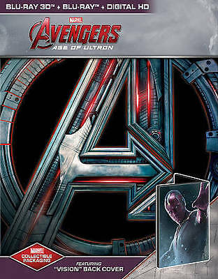 Avengers Age of Ultron Steelbook 1st edition  Best Buy Exclusive Blu-ray 3D
