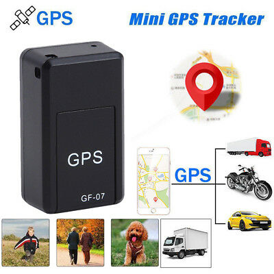 Magnetic Mini Portable GPS Tracker GF-07 Tracking Locator Device for Car Person
