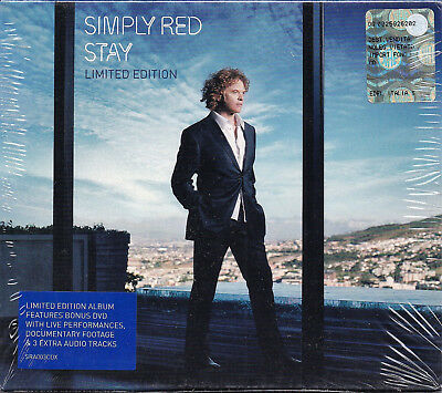 Simply Red - Stay (Limited Edition) CD+DVD  NEU+OVP!