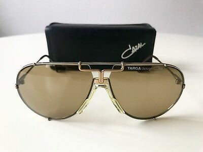 ab6487f65fd2 vintage CAZAL 901 TARGA sunglasses col 52 gold silver W.Germany LARGE rare  902