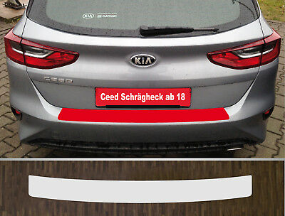 Clear Protective Foil Bumper Transparent Kia Ceed Hatchback Soda, from 2018