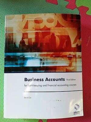 Business Accounts Accounting & Finance 3th edition Edition