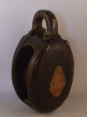 Vintage Boat Single Rope Pulley
