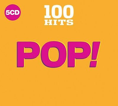 100 Hits: Pop - Various Artists (Box Set) [CD]
