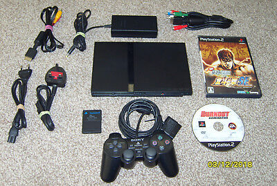 Sony PlayStation 2 PS2 Slim SCPH – 75003 - Mod Chipped - Region Free