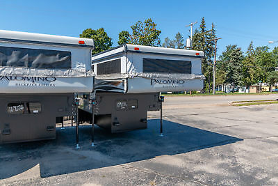 PALOMINO SS1251 POP UP 1/2 TON TRUCK CAMPER TOILET AND SHOWER w7 YR WARRANTY