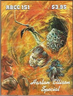 Rocket's Blast And Comicollector 151 Rbcc Harlan Ellison Special Signed / Ltd.