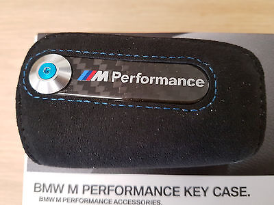 Bmw M Performance Key Case, Alcantara /carbon Bmw M2 Coupe