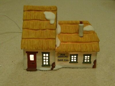 Dept. 56 Heritage Village Dickens The Cottage of Bob Cratchit & Tiny Tim in Box