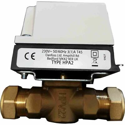 Danfoss HPA2 Actuator and Valve Pack