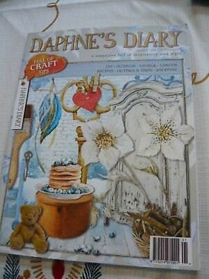 Daphne's Diary 1 of 2  Number 8 2015   Interior, Garden, Vintage, Workshops