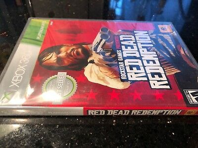 Red Dead Redemption Platinum Hits - XBOX 360 New factory sealed
