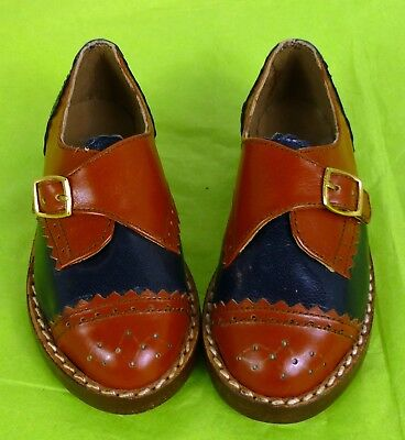 "5"" LEATHER BROGUES, CHILD SHOES, VINTAGE SHOES, or big Doll"