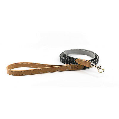 Ralph & Co Dog Lead Tweed/Leather