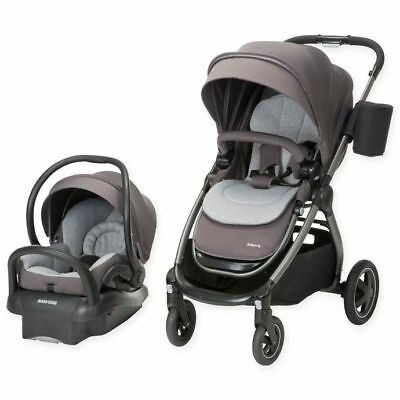 Maxi Cosi Adorra Travel System Mico Max 30 Car Seat Adorra Stroller Loyal Grey