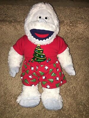 """18"""" Build A Bear Bumble The Abominable Snowman Rudolph Reindeer Snow Monster"""