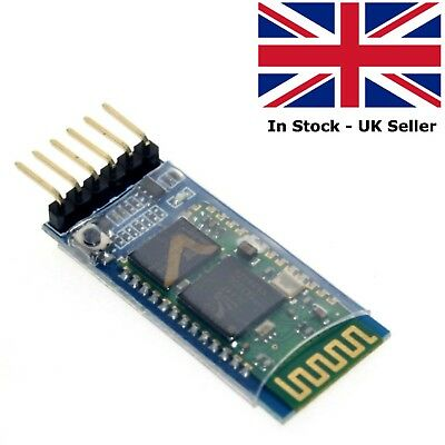 HC-05 Wireless Bluetooth Serial 6 Pin Master Slave Module Arduino ARM Pi PIC
