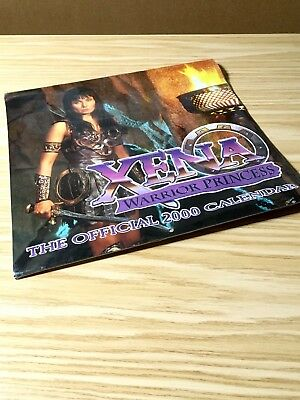 Xena Warrior Princess The Official 2000 Calendar Unused, Sealed