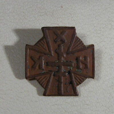 Vintage  Beautiful Antique Post medieval Bronze Cross  /988