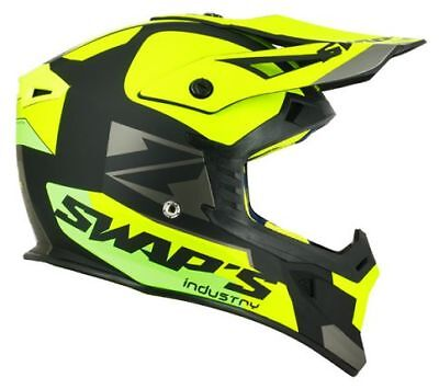 Casque Track Swaps BLUR S818- Qualité ABS - Cross - enduro - Jet ski
