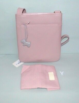 5a4a2e71a3377a Radley Gift Boxed 'Pockets Bags' Pink Leather Crossbody Bag BNWT RRP £119  New