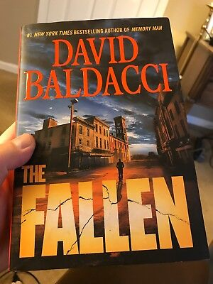 Memory Man series: The Fallen  by David Baldacci (2018, Hardcover) 1st Edition