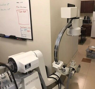 OEC 9400 C Arm W Workstation Works Well But Needs New Batteries Biomed Checked