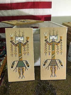 Relate To The Water Navajo Native American Indian Sand Painting Dave Benally