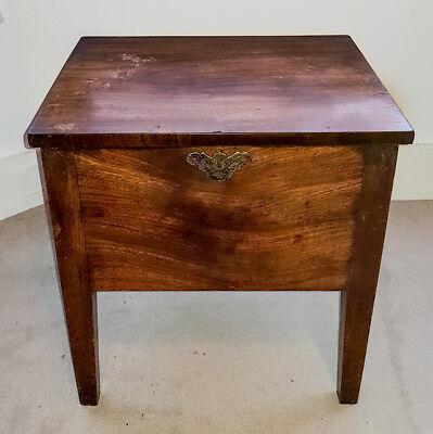 19th Century Antique Mahogany Wood Occasional Side Table Georgian Victorian