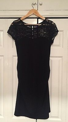 Seraphine Black Maternity Dress size 8 (party, Cocktail, Smart)