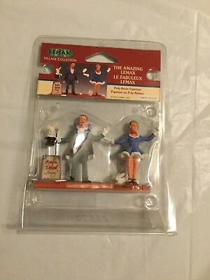Lemax Village Carnival Collection THE AMAZING LEMAX, Magician, 22570 RARE
