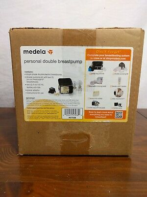 BRAND NEW! Never Used Medela Double Electric Breast Pump Kit Bottles 57038