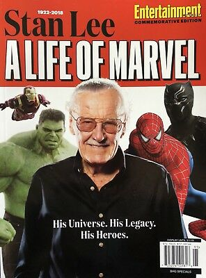 Stan Lee Entertainment Weekly Commemorative Edition 2018 Magazine Marvel Comic