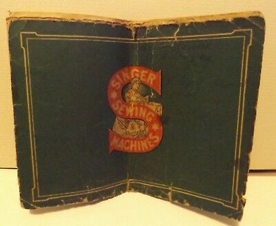 SINGER SEWING MACHINE COMPANY 1913 Catalog 24 pages RARE lots of pictures