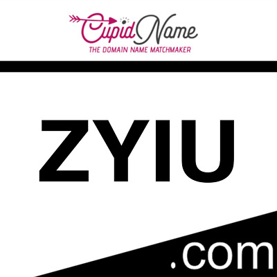 ZYIU.com - 4 Letter Domain Name *NO RESERVE* Top Level Domain LLLL