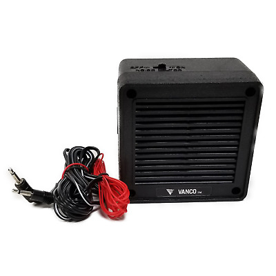 "WORKMAN 715 4/"" 8 OHM AMPLIFIED EXTENSION SPEAKER WITH 6 FOOT CABLE /& 3.5MM PLUG"