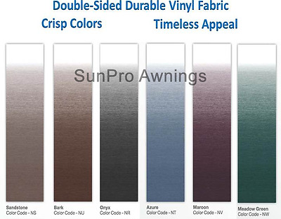 Bark Dometic B3314989NU.416 16/' Universal Replacement RV Awning Fabric