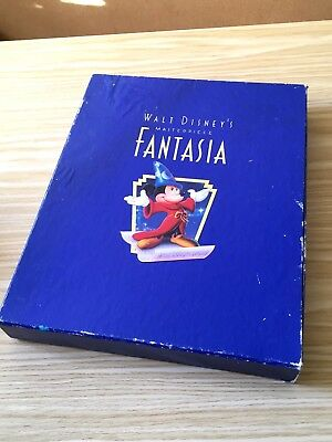 Fantasia (Walt Disney's) Deluxe VHS Collectors Editions 90's