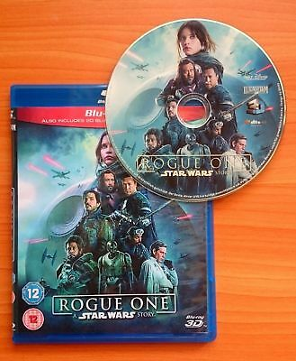 Rogue One: A Star Wars Story 3D Blu-ray Region Free Buy Now Best Deal....