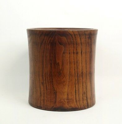 Very fine large antique Chinese 18th / 19th century Huanghali wood brushpot