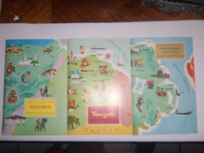 Around The World Program---by American Geographical Society--5 books